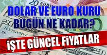 13 Aralık Dolar ve Euro Fiyatı