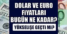 17 Ocak Dolar ve Euro Fiyatları
