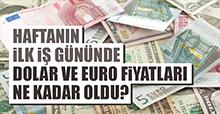 21 Ocak Dolar ve Euro Fiyatları
