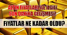 19 Ocak Altın Fiyatları