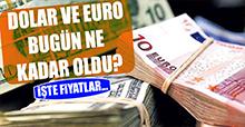 18 Şubat Dolar ve Euro Fiyatları