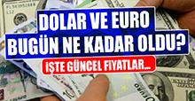 20 Dolar ve Euro Fiyatları