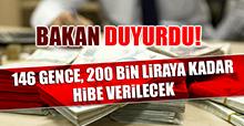 146 Gence, 200 Bin Liraya Kadar Hibe Verilecek