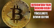 Bitcoin'den yılın rekoru geldi!