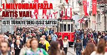 1 milyondan fazla artış var! İşte Türkiye'deki işsiz sayısı