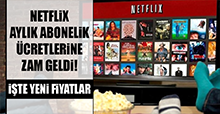Netflix aylık abonelik ücretlerine zam geldi!