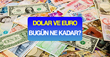 23 TEMMUZ'DA DOLAR VE EURO NE KADAR?