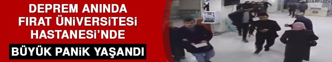 Deprem Anında Fırat Üniversitesi Hastanesi'nde Büyük Panik Yaşandı