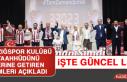 Elazığspor Kulübü Forma Kampanyasına Bağış...