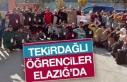 Tekirdağlı Öğrenciler Elazığ'a Geldi