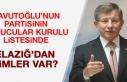 Davutoğlu'nun Partisinde Elazığ'dan Kimler...