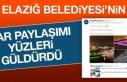 Elazığ Belediyesi Sosyal Medyada Yüzleri Güldürdü