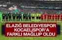 Elazığ Belediyespor, Kocaelispor Farklı Mağlup...
