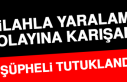 Elazığ'da Silahla Yaralama Olayına Karışan...
