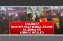Bakanlar Mustafa Paşa Mahallesinde Çalışmaları...