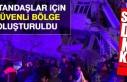 Elazığ'da Vatandaşlar İçin Barınma Yeri...