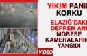 Elazığ'daki Deprem Anı MOBESE Kameralarında