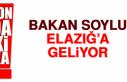 4 Bakan Elazığ'a Geliyor