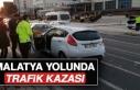 Malatya Yolunda Trafik Kazası Oldu