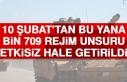 10 Şubat'tan Bu Yana Bin 709 Rejim Unsuru Etkisiz...