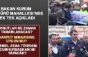 Bakan Murat Kurum, Sürsürü'de Önemli Açıklamalarda...