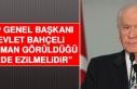 MHP Genel Başkanı Devlet Bahçeli: Düşman Görüldüğü...