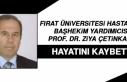 Başhekim Yardımcısı Prof. Dr. Ziya Çetinkaya...