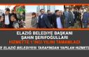Elazığ Belediye Başkanı Şahin Şerifoğulları...