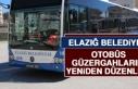 Elazığ Belediyesi Otobüs Güzergahlarını Yeniden...