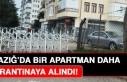 Elazığ'da Bir Apartman Daha Karantinaya Alındı