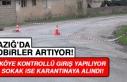 Elazığ'da Bir Köye Kontrollü Giriş Yapılıyor...