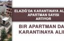 ELAZIĞ'DA KARANTİNAYA ALINAN APARTMAN SAYISI...