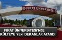 Fırat Üniversitesi'nde 3 Fakülteye Yeni Dekanlar...