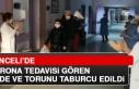 Tunceli'de Korona Tedavisi Gören Dede ve Torunu...