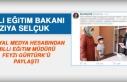 Bakan Selçuk, Müdür Gürtürk'ü Paylaştı