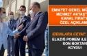 Emniyet Genel Müdürü Aktaş, Elazığ POMEM ile...