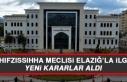 İl Hıfzıssıhha Meclisi Elazığ'la İlgili Yeni...