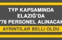 Elazığ'da 778 Personel Alımı Yapılacak