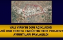 Elazığ OSB, Tekstil Endüstri Park Projesi'nin...