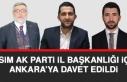 AK Parti Elazığ İl Başkanlığı İçin Gözler...