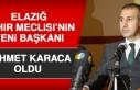 Elazığ Şehir Meclisi'nin Yeni Başkanı Mehmet...