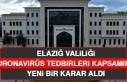 Elazığ Valiliği, Koronavirüse Karşı Yeni Bir...