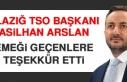 ETSO Başkanı Arslan, Emeği Geçenlere Teşekkür...