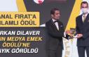 'Yılın Medya Emek Ödülü' Furkan Dilaver'e...