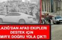 Elazığ'dan Ekipler Destek İçin İzmir'e...