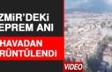 İzmir'deki Depremde Binaların Çökme Anı...