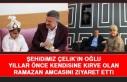 Şehidimizin Oğlundan Kirvesi Ramazan Gürgöze'ye...