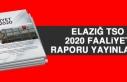 Elazığ TSO 2020 Faaliyet Raporu Yayınlandı