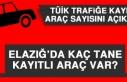 Elazığ'da Kaç Tane Kayıtlı Araç Var?