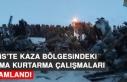 Bitlis'te Kaza Bölgesindeki Arama Kurtarma Çalışmaları...